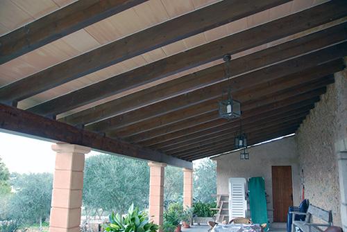 Tejados y porches toni muntaner construccions - Tipos de tejados para casas ...